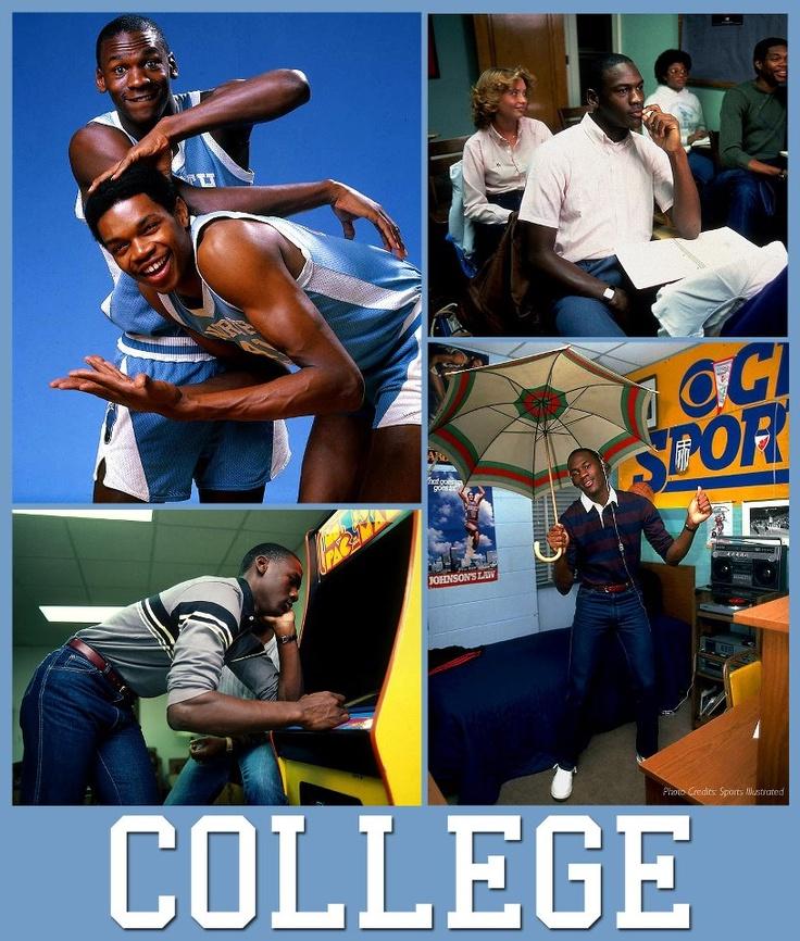 Michael Jordan's college years!