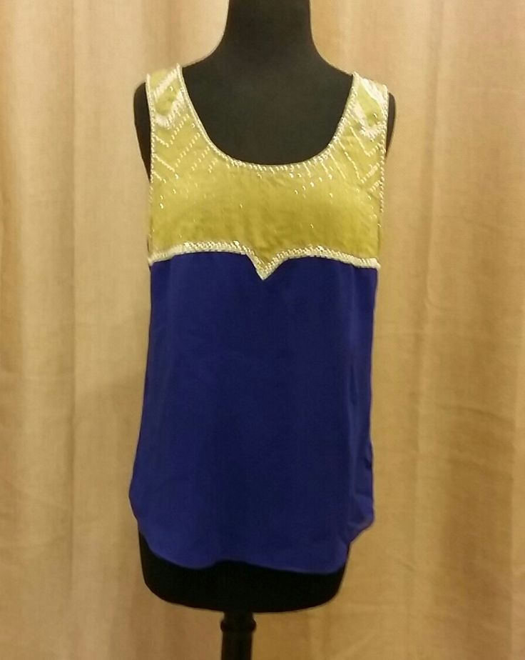 ECU game day ready embellished tank! Stand out in the crowd as you show your Pirate Pride!