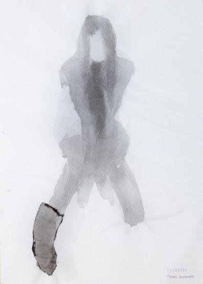 Maria Andrade : Tinta-da-china s/ papel, 594 x 420 mm