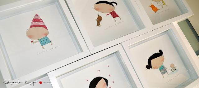 KILIKA * HECHO A MANO: Silvia Gándara-Ilustración
