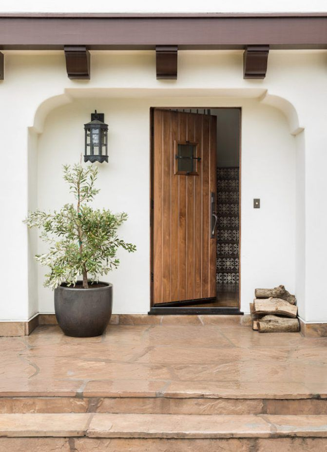 See this Spanish Modern dream home in Hillsburough, a refresh of Old World Style where crisp white meets dark wood and intricate tile.