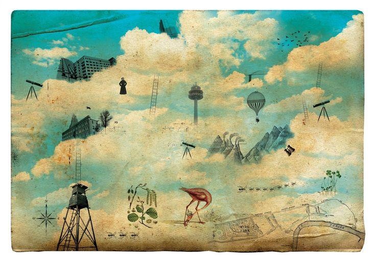 ilustrações cidade invisiveis - Google Search