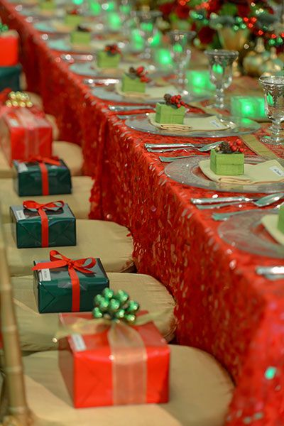preston bailey classic christmas holiday party decor