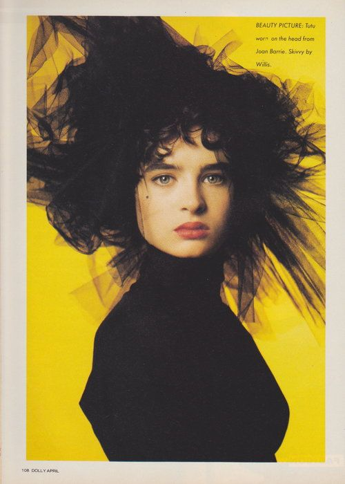 Dolly April 1987 | The Shape Of Skirts To Come (Belinda Riding) 05