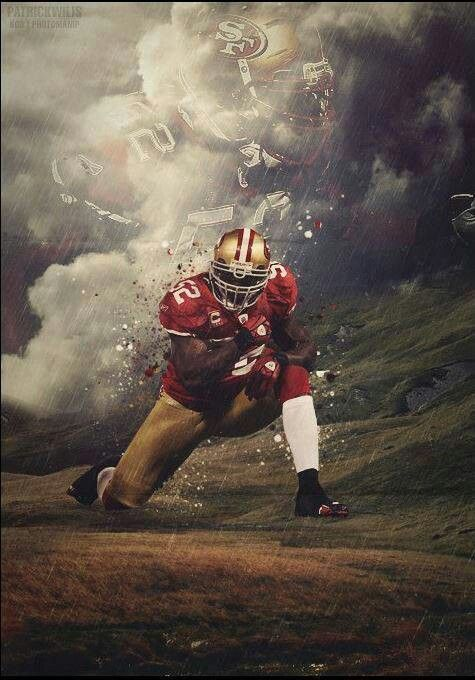 One of the best defensive MLB in the league. Patrick Willis.