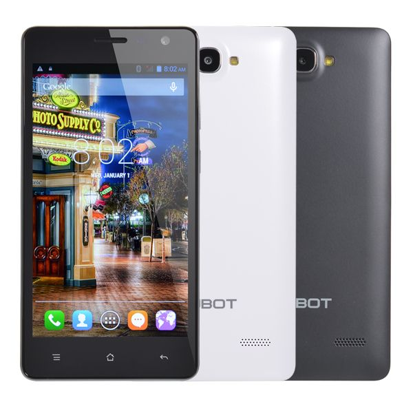 CUBOT S168 5-inch Android 4.4 MTK6582 1.3GHz Quad-core Smartphone