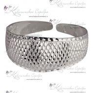 Браслет серебряный, арт №3370 - «Кубачинское серебро»