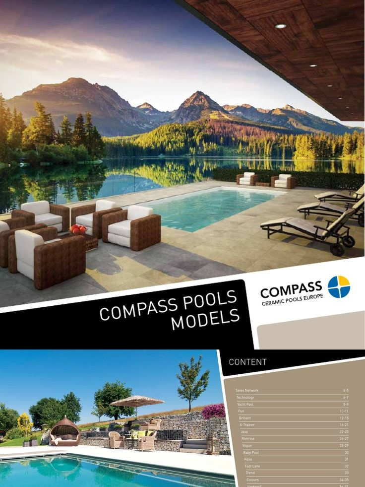 I'm reading Compass Ceramic Pools Catalogue 2014 - english on Scribd