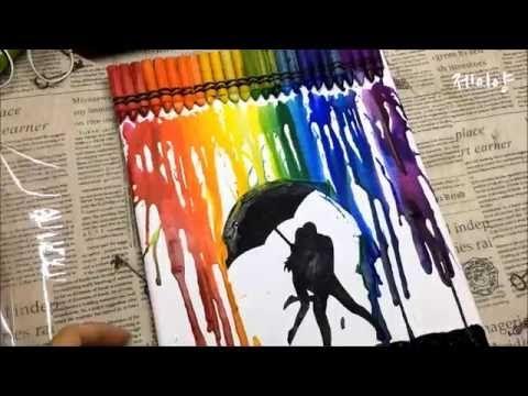 크레용 아트(Crayon Melting Art) l 제이양 - YouTube