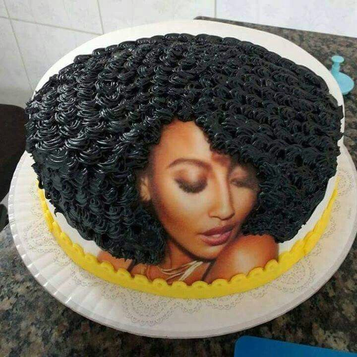 Afro Cake Birthday Cake Cake Birthday Cakes For Women