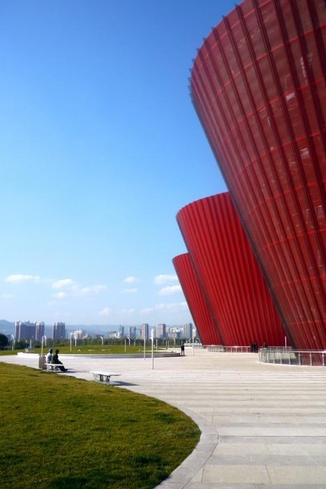 Museo Arqueológico Taiyuan / Paul Andreu Architecte