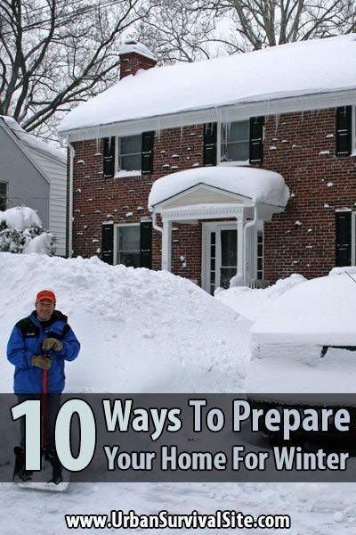 Winter is here. If you have't prepared your home for cold weather, now is the time. Here are 10 ways to prepare your home for winter.