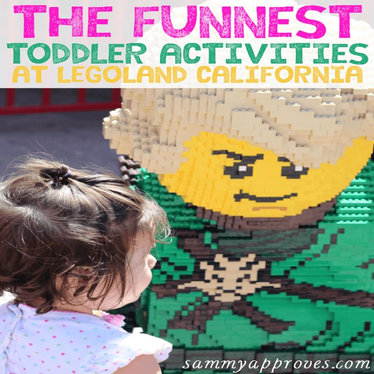 Planning a trip to LEGOLAND with your family? Here are some tips to finding the best toddler activities at LEGOLAND California!