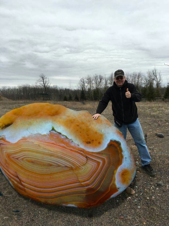 """I found a little agate....."""