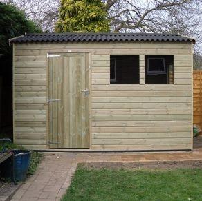 The Croydon Apex Wooden Workshop - Timber Workshops