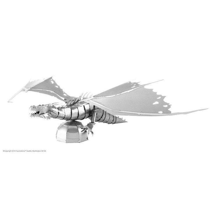 Harry Potter Metal Earth - Gringotts Dragon