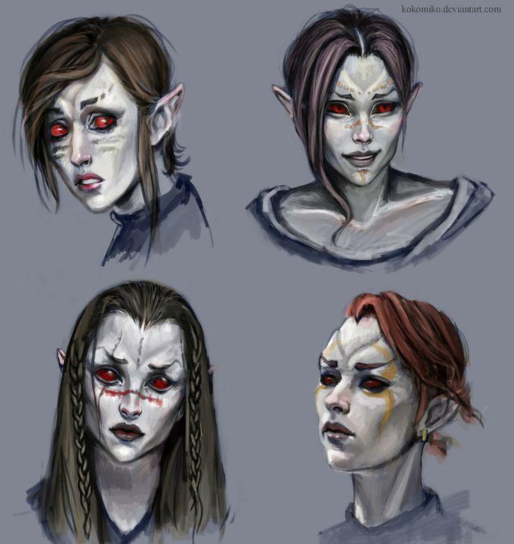 The Elder Scrolls V: Skyrim | Dunmer