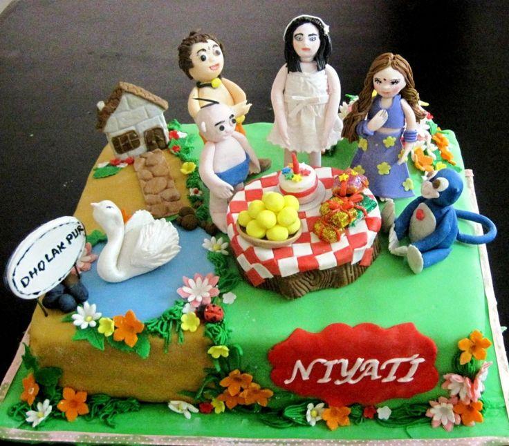 Krishna Chota Bheem Cake Ideas And Designs