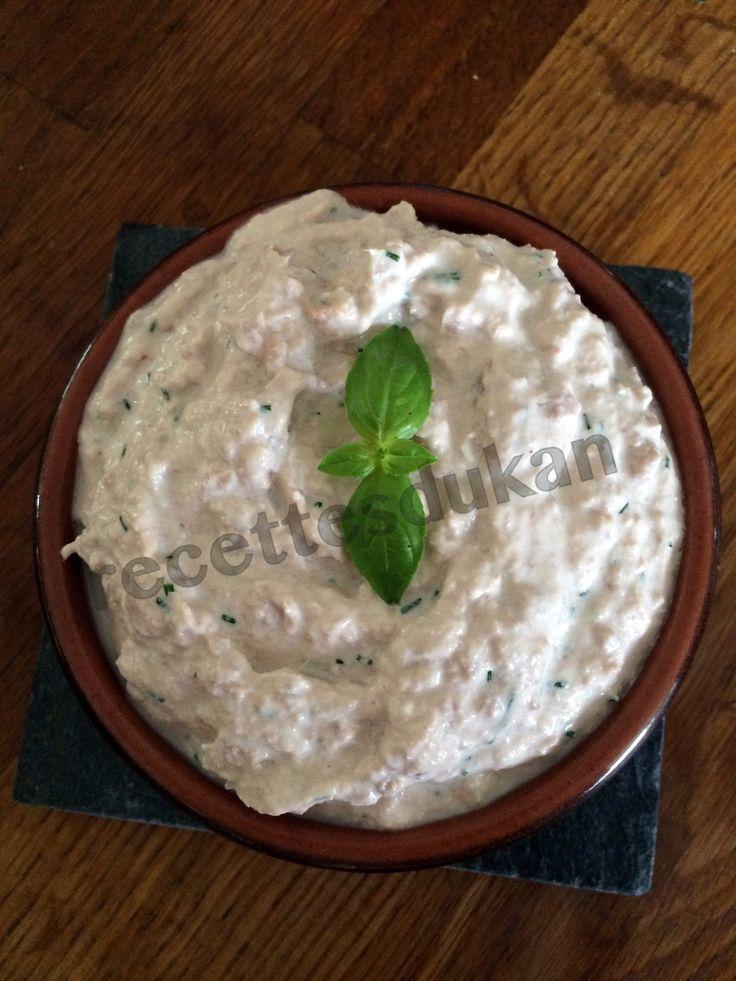 Une recette de rillettes de thon Dukan à partager pour l'apéritif à partir de PP