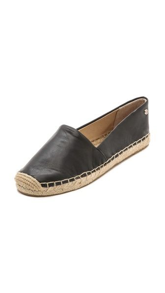 leather espadrilles-- can't get much better