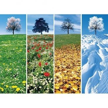 Vier seizoenen legpuzzel