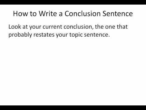 English literature essay conclusions