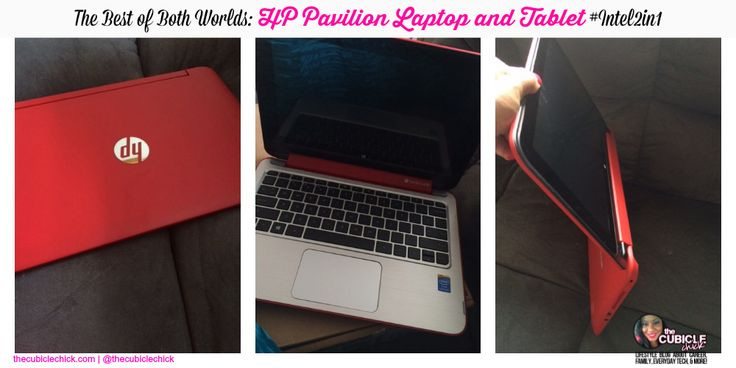 The Best of Both Worlds HP Pavilion Laptop and Tablet #Intel2in1 #tech #HP