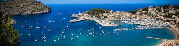 Puerto de Sóller, Mallorca, Spain