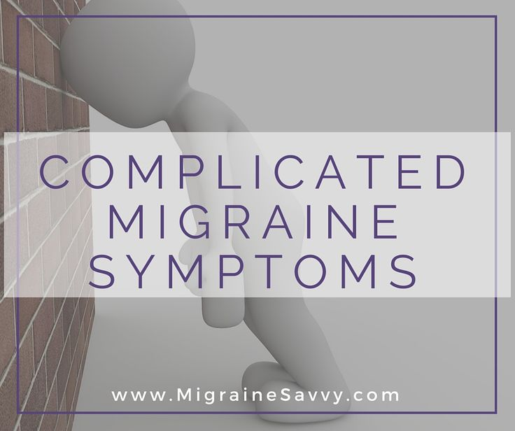 Migraines are finally being recognized as a worldwide debilitating problem. Click here to know what complicated migraine symptoms look like and what you can do to treat them. FAST!