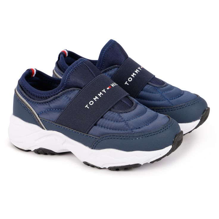 Tommy Hilfiger Logo Sneakers In Navy Blue Bambinifashion Com Tommy Hilfiger Sneakers Navy Blue Sneakers Tommy Hilfiger