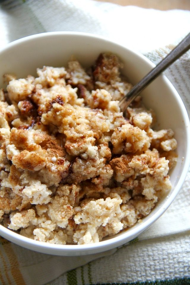 Cinnamon Bun Breakfast Bake
