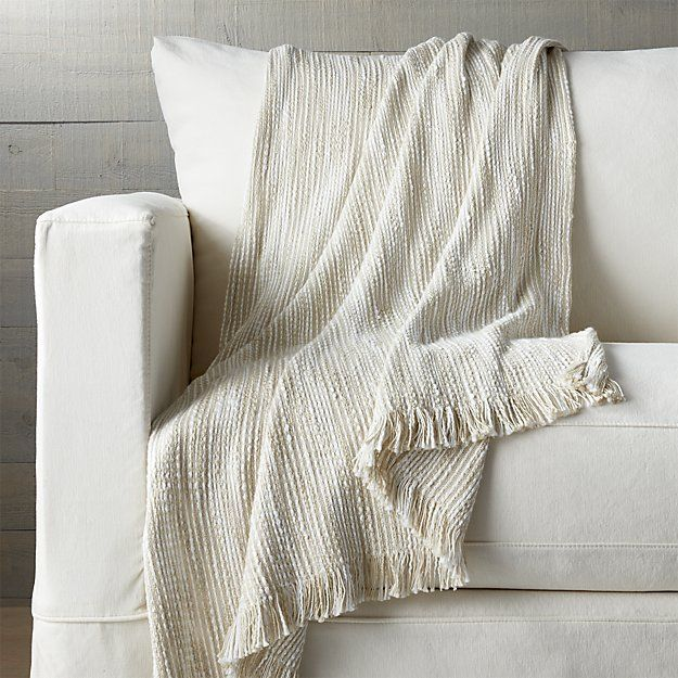 crate u0026 barrel korman natural throw brl liked on polyvore featuring home bed u0026 bath bedding blankets fringed throws textured bedding crate and