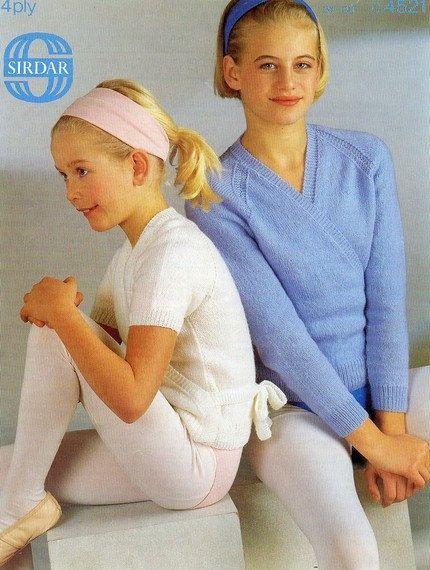 Ballet Cardigan Knitting Pattern : Sirdar 4521 Vintage Knitting Pattern by vintagemadamedefarge, USD2.00 Vintage...