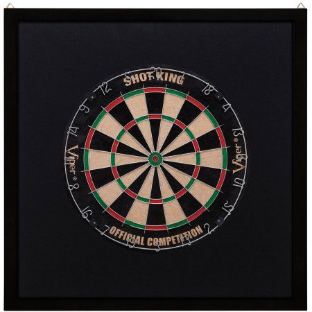 Viper Dartboard Surround, Black