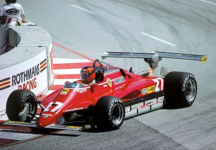 Gilles Villeneuve, Ferrari 126 C2, 1982 US West GP