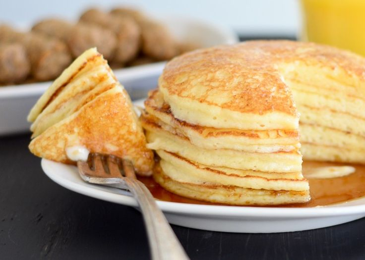 GF cottage cheese pancakes | For the belly | Pinterest