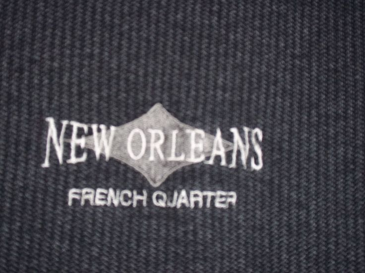 King Cotton Gray New Orleans French Quarter T-Shirt XL  #KingCotton #BasicTee
