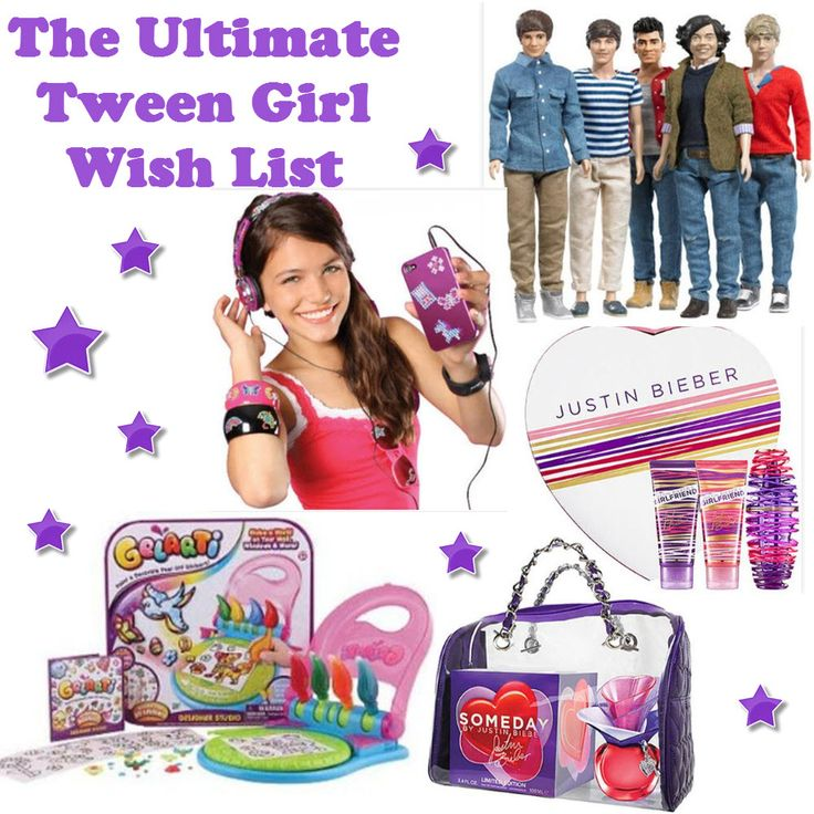 Ultimate Tween Girl Gift Guide on http://blog.gifts.com ...