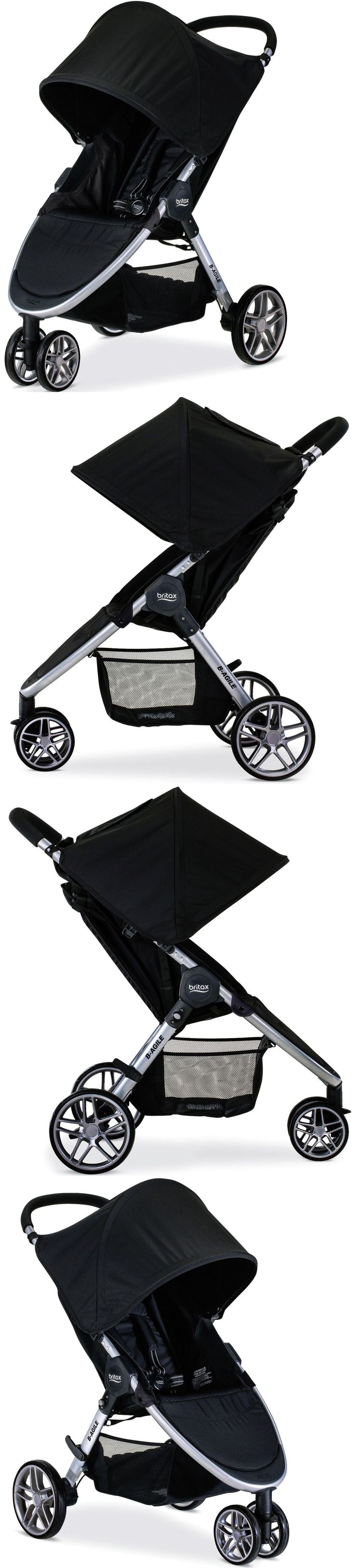 Stroller Accessories 180911: Britax B-Agile 3 Lightweight One Hand Fold Single Stroller Black New 2017 -> BUY IT NOW ONLY: $216 on eBay!