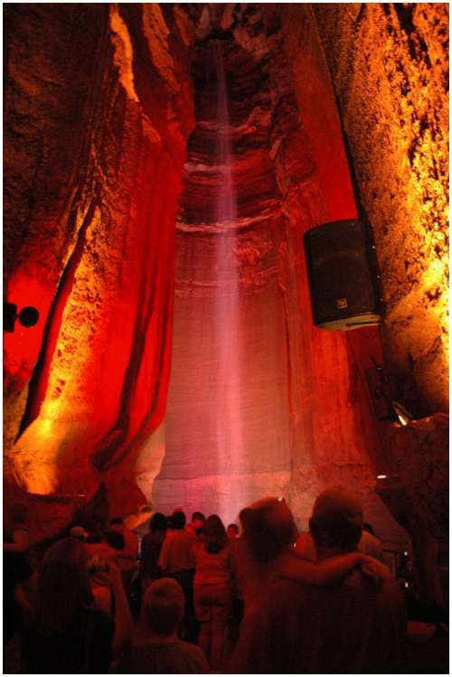 Ruby Falls, TennesseeUnderground Waterfall, Chattanooga Tennessee, Ruby Falls A, Childhood Memories, Waterfall Locations, 145 Foot, Foot High, Rocks Cities, Falls A 145