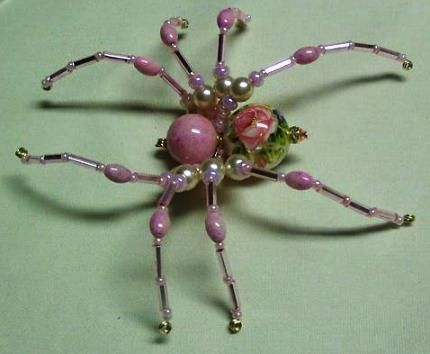 Make your own sparkling spider | Needlework News | CraftGossip.com