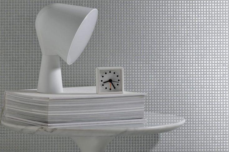Ref m 15 micro mosa que blanche deco salle de bain mosaique et salle - Micro salle de bain ...