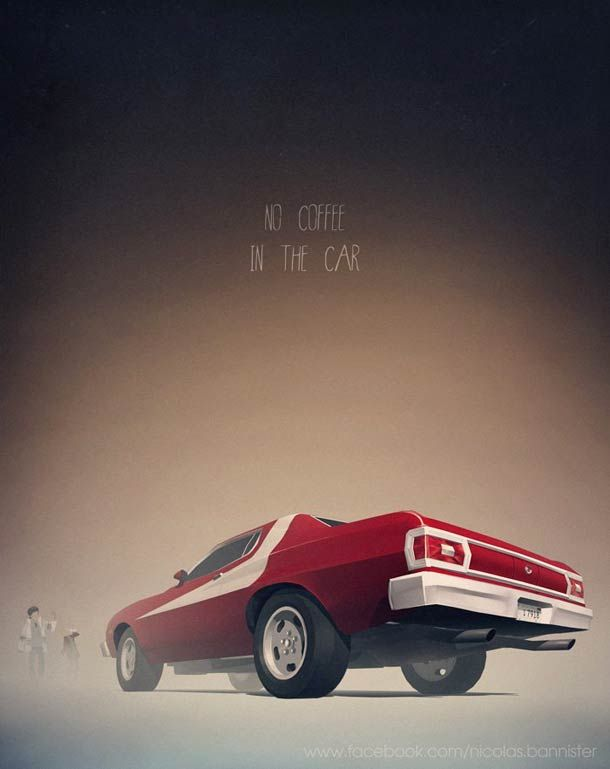 Cult Cars – Beautiful illustrations of Nicolas Bannister