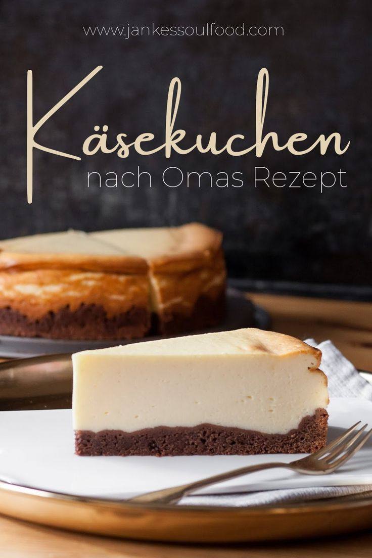 Omas Käsekuchen | Käsekuchen rezept mit quark, Kuchen und