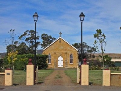 When visting Sorell in Tasmania's south, see if you call find all three National Estate listed churches, especially the impressive St George's Anglican Church in Gordon Street. #churches #sorell #tasmania #discovertasmania Image Credit: Tania Horne
