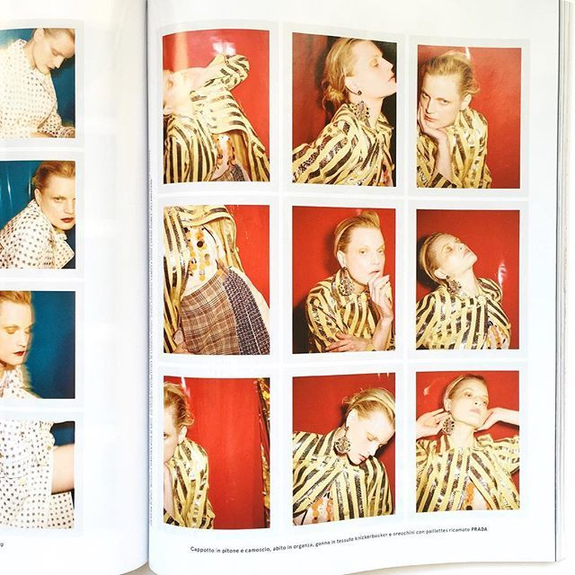 THE NOW. Guinevere Van Seenus, Flair N° 21. Photographed by Ezra Petronio. Style by Sissy Vian. Makeup by Georgina Graham. Hair by Pierpaolo Lai. Set design by Eli Metcalf. @flairitalia @sissyvian @_georginagraham @pierpaololai @jonelimetcalf  #flair #ezrapetronio #guineverevanseenus #sissyvian #georginagraham #pierpaololai #elimetcalf
