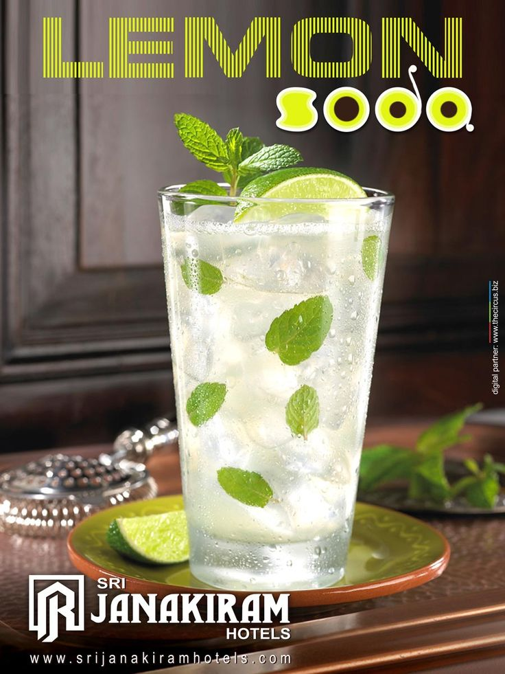 Refreshing Lemon Soda on a sunny day will be the best moment of the day. Enjoy the Chilling Lemon soda in Sri Janakiram Hotel   #srijanakiram #evening #beattheheat #lemonsoda