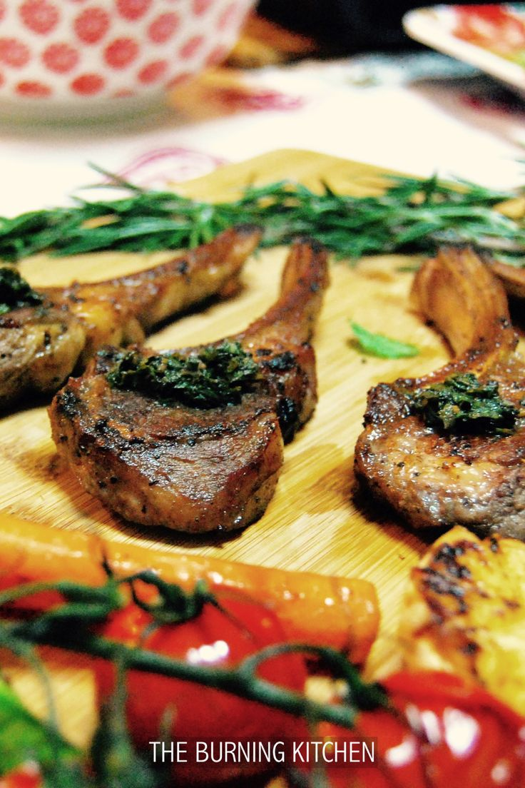 The Burning Kitchen | Rosemary Lamb Cutlets