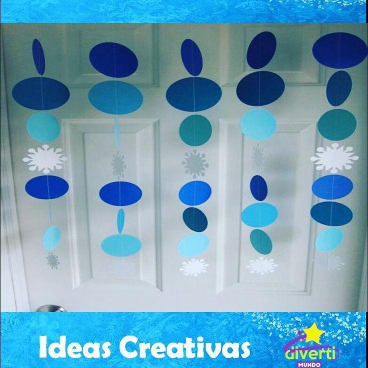 Estas son algunas de las ideas que puedes colocar en tu evento de Frozen para decorar puertas y fondos.  No es muy costoso, es de fácil realización y se ven hermosos.  Tenemos más ideas para ti.  Conoce más de nosotros en www.divertimundo.com.ve  #colores #frozen #celeste #turquesa #blanco #azul #decoración #ambientación #Variedad #colores #Elsa #Ana #olaf #Disney #ambientación #ideasCreativas #divertimundl http://misstagram.com/ipost/1572743601723686795/?code=BXTgfkXgj-L