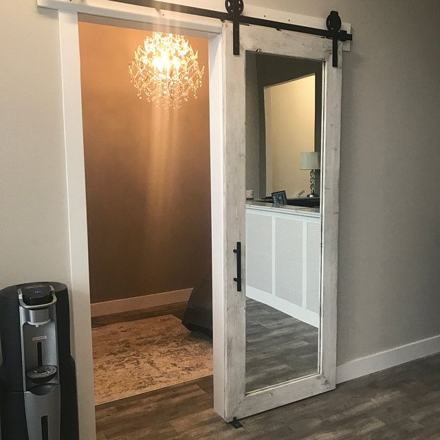 Framed British Brace Style Rustic Sliding Barn Door Etsy In 2020 Rustic Mirrors Barn Door Interior Barn Doors